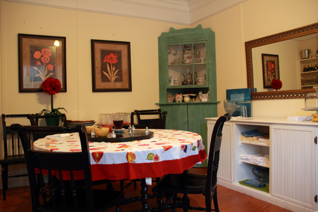 Our kitchen awaits your stay! At the Thurston House Inn Bed and Breakfast